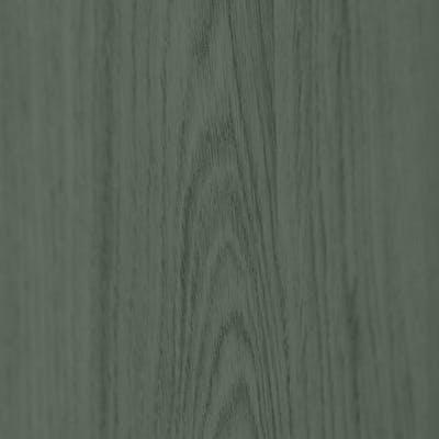 Dusty green stained oak