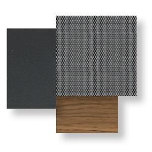 Alabama Alu - Graphite-textilene silver black