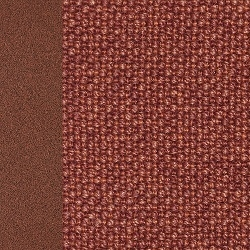 Painted matt corten / Ramiro fabric_ Dark orange