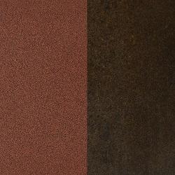 Painted matt corten / Corten ceramic
