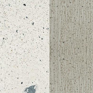 Cemento punteado blanco P129 / cemento natural X080
