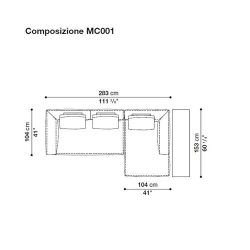 Michel MC001_ 283 x 153 cm
