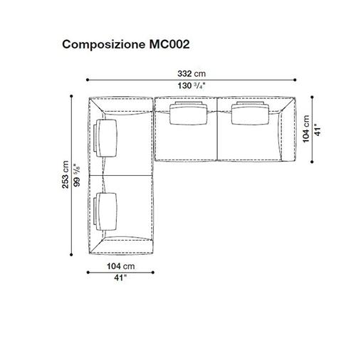 Michel MC002_ 332 x 253 cm