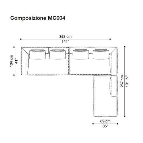 Michel MC004_ 358 x 257 cm