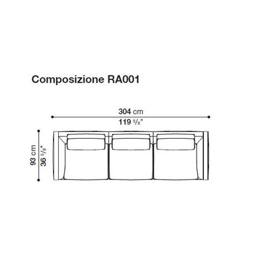 Richard RA001_ 304 x 93 cm