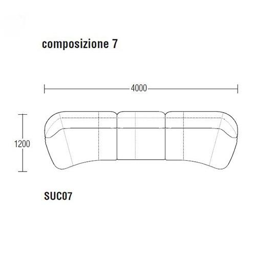 Surf SUC07_ 400 x 120 cm