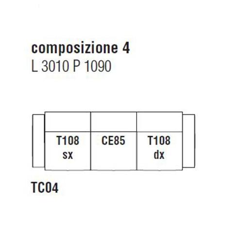 Turner TC04_ 301 x 109 cm