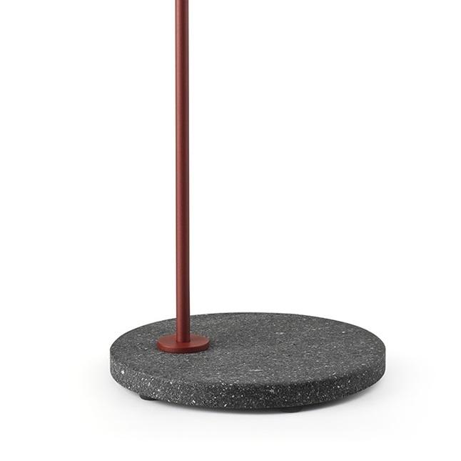 Lava roja / negro burdeos