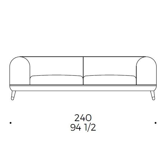Linear Shore D3_240x105 cm