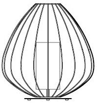 Ø 57 x H. 62 cm