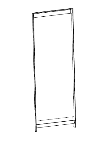 King 09.36 (82 x 15 x 190 cm)