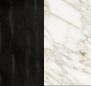 Tinto nero/Marmo Calacatta Vagli Oro