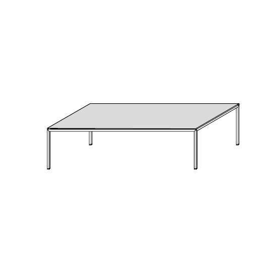 06.01 Diagonal (120 x 65 x H 32 cm)
