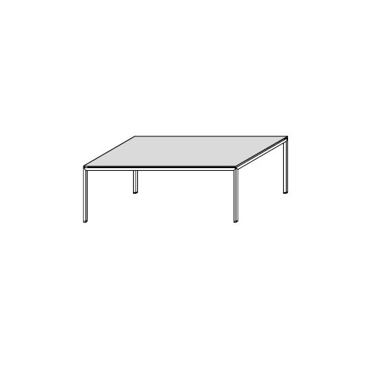06.04 Diagonal (90 x 54 x H 32 cm)