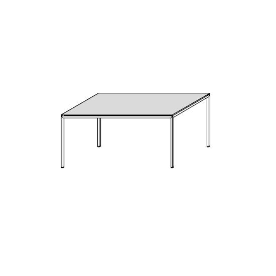 06.05 Diagonal (90 x 54 x H 42 cm)