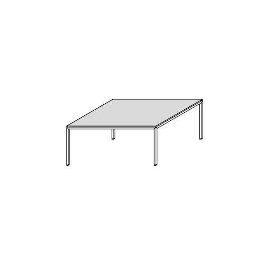 06.07 Diagonal (75 x 75 x H 32 cm)