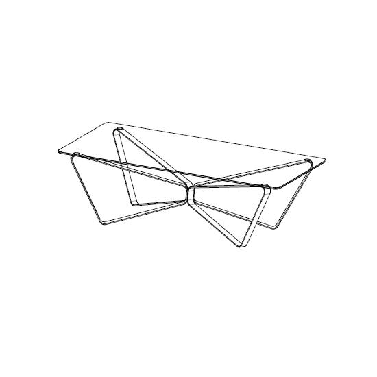 08.35 Loop (135 x 70 x H 32 cm)