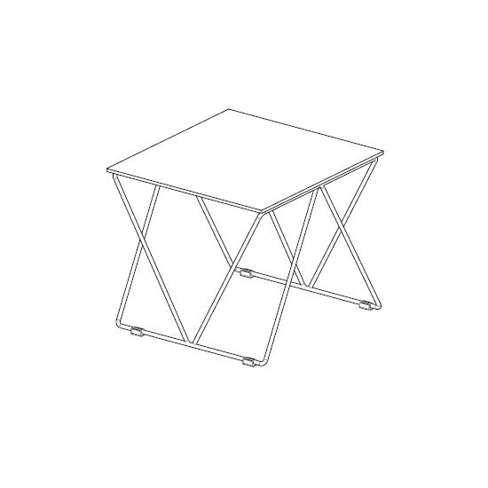 07.77 Flexus (49 x 49 x H 43 cm)