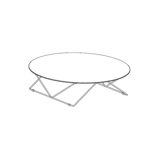 07.80 Flexus (Ø 110 x H 29 cm)