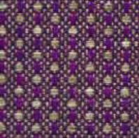 TMA07 Tejido mambo violeta oro