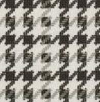 TNS08 Pied de Poule Sal & Pimienta Waterproof Nabuk Impreso