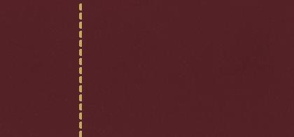 Q232 Cuero Bordeos con Costuras Color Crudo