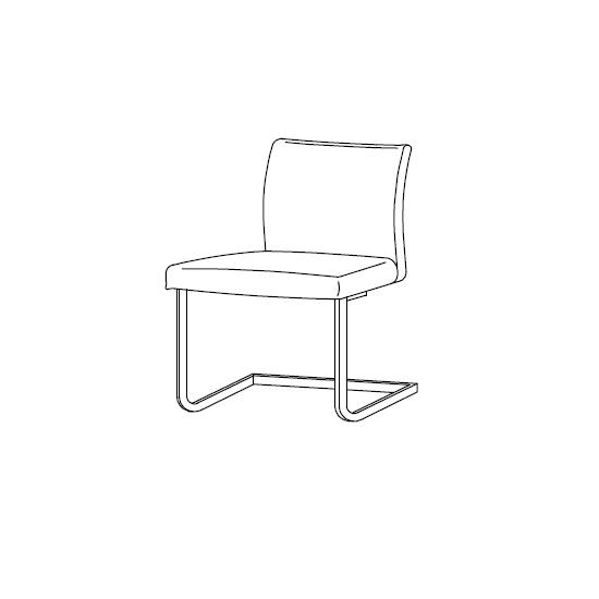 40.24 Hisa (45 x 53 x H 85/48 cm)