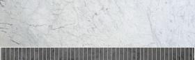 Carrara Weiß / Graphit
