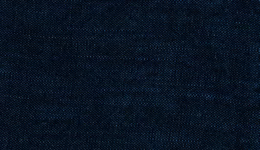 Dark Blue Linen Blend Cat. M