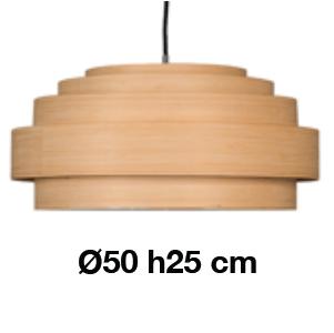 Thin Wood Medium_ Ø 50 x H 25 cm