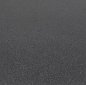 Verniciato goffrato opaco nero ferro (effetto nuvolato) X130