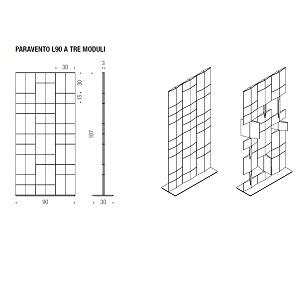 Trois modules - L90 P30 H187