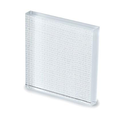 Net Glass_ NEB1 laccato bianco