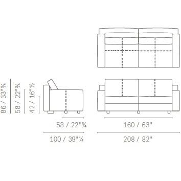 5507281_ 208x100xH 86 cm- Low