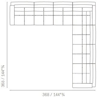 Massimosistema_ Nr.5_ 368 x 368 cm