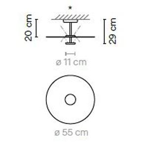 5915 - Ø 55 cm - h: 29 cm