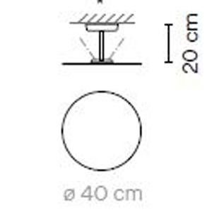 5920 - Ø40 - h: 20 cm