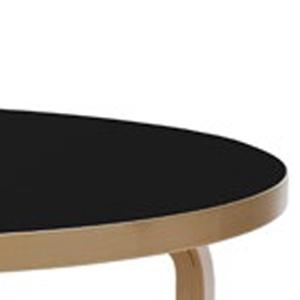 Aalto_Gambe e fascia bordo piano laccato naturale linoleum nero