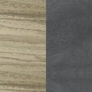 Sumpfasche - Dunkelgrauer Zement