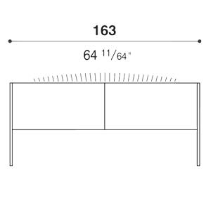 Steel_163 x 64 x H 72 cm