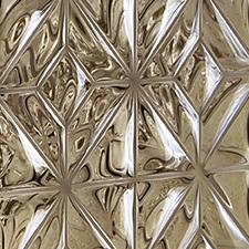 Fused bronze glass