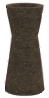 Ø 43 x H 100 cm