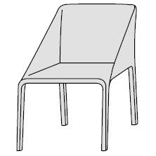 S43P_ 57 x 55 x H 77 cm