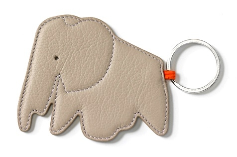 Key Ring Elephant_ Sabbia
