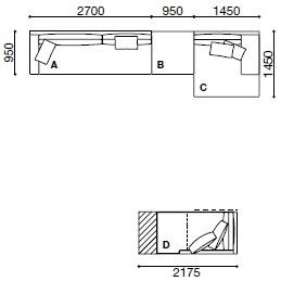 MO005_ 51 x 145 + 217.5 x 95 cm