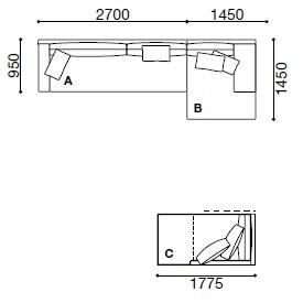 MO006_ 415x 145 cm + 177.5 x 95 cm