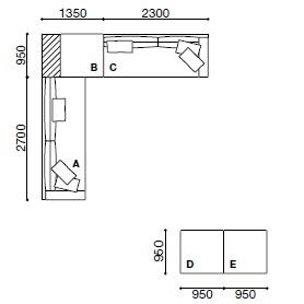 MO009_ 365 x 365 cm + 190 x 95 cm
