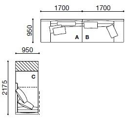 MO012_ 340 x 95 cm + 95 x 217.5 cm