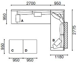MO013_ 365 x 277.5 cm + 190 x 95 cm