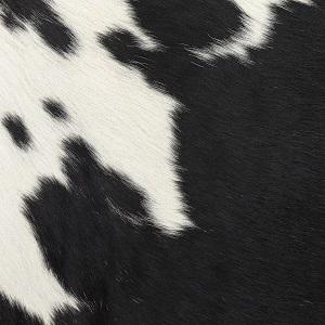 Pelle con pelo_ 13Z235_ Blanc/Noir
